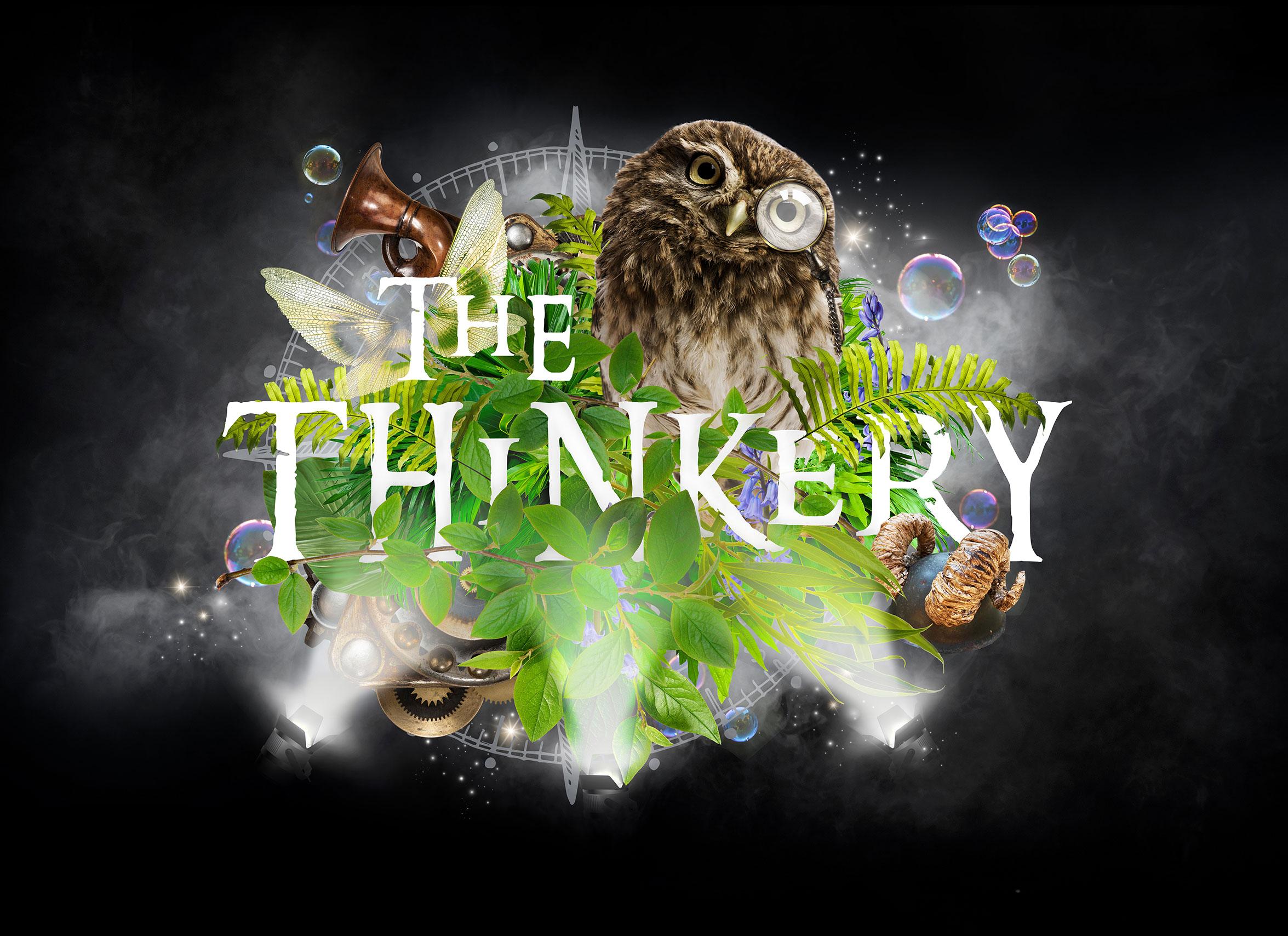The Thinkery sub brand logo design